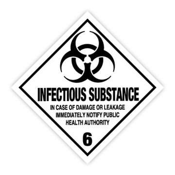 132.265 6 Infectious substance