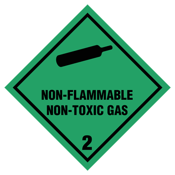 132.256 2 Non Flammable compressed gas